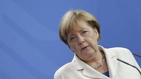 """""""Rückführung, Rückführung, Rückführung"""": Merkel schlägt neue Töne in der Flüchtlingspolitik an"""