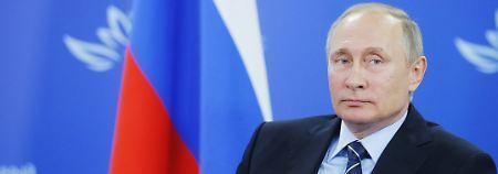 Verhandlungen über Syrien: Putin: Einigung mit USA bald möglich
