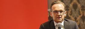 Belog Justizminister den Bundestag?: Vermerk bringt Maas in Bedrängnis
