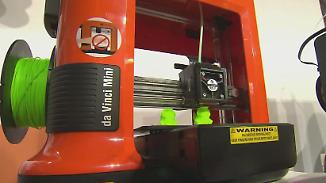 Technik der Zukunft: 3D-Drucker lassen IFA-Besucher staunen