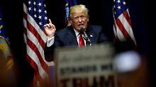 Unter Donald Trump als Präsident würde die US-Wirtschaft wohl erheblich leiden.