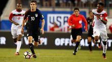 Christian Pulisic von Borussia Dortmund zeigte beim Spiel der USA gegen Trinidad und Tobago eine überzeugende Leistung.
