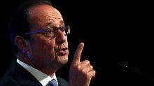 Tritt er trotzdem zur Wahl an?: Neun von zehn Franzosen lehnen Hollande ab