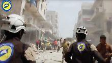 Alternativer Nobelpreis: Syrische Weißhelme ausgezeichnet