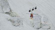 Technik-Panne am Mont Blanc: 33 Seilbahn-Passagiere sind gerettet