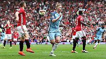 Duell Guardiola gegen Mourinho: De Bruyne schießt ManCity zum Derbysieg
