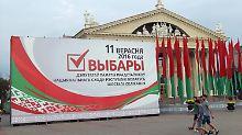 Abstimmung mit bekanntem Ausgang: Weißrussland wählt ein neues Parlament