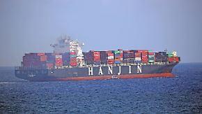 Über 70 Schiffe dürfen nicht anlegen: Bekommen Konsumenten weltweit Hanjin-Pleite zu spüren?