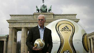 """Des Kaisers """"Ehrenamt"""": Beckenbauer soll 5,5 Millionen Euro als OK-Chef erhalten haben"""