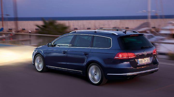 Vor allem als Kombi ist der VW Passat ein begehrtes Vielfahrobjekt.