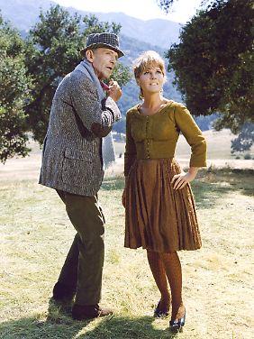 """Fred Astaire machte auch Petula Clark nervös - Szene aus """"Der goldene Regenbogen""""."""