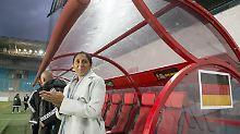 Deutscher Kantersieg in Russland: Bundestrainerin Jones erlebt Traumdebüt