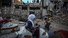 Extreme Wasserknappheit in Damaskus: Syriens Bürgerkrieg tobt um wichtige Quelle