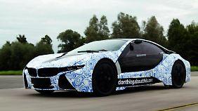Schnell und sparsam: BMW will die Hybrid-Studie Vision Efficient Dynamics bis Ende 2013 zum Serienfahrzeug weiterentwickeln.