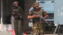 Indische Soldaten in Kaschmir (Archivbild).