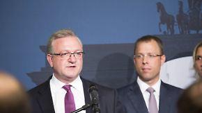 """""""Ergebnis für CDU absolut unbefriedigend"""": Henkel räumt Niederlage bei Abgeordnetenhauswahl in Berlin ein"""