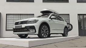 Kompakt-SUV mit 2.0 TDI Biturbo: So sportlich ist der neue VW Tiguan