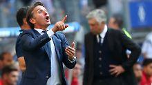 Verzweifelte am mangelnden Kombinationsspiel seines Teams: Bruno Labbadia, Noch-Trainer beim HSV