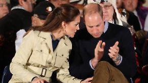 So einfach ist die Versöhnung nicht: Kanadischer Stammeshäuptling lässt Kate und William abblitzen