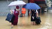 """Sturmserie in Fernost: Taifun """"Megi"""" fegt über Taiwan"""