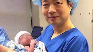 Medizinische Sensation: Erstes Baby mit drei biologischen Eltern geboren