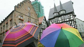 Regenschauer breiten sich aus: Auf Bilderbuchseptember folgt trüber Oktober