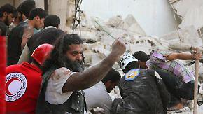 Angriff auf Aleppo: Fassbomben treffen Krankenhaus