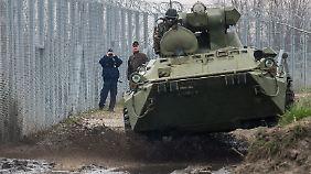 Die ungarische EU-Außengrenze ist mittlerweile so gut wie unüberwindbar.