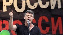 Kreml-Gegner auf Brücke erschossen: Mutmaßliche Nemzow-Mörder vor Gericht
