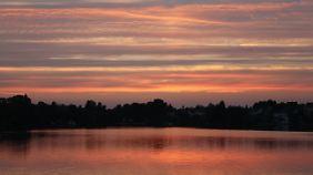 Traumhafter Sonnenuntergang - der Lohn für einen wunderbaren Ausflug mit dem Boot.