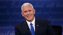 Mike Pence: Der Mann, der regiert, wenn Trump nicht will
