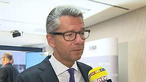 """BDI-Präsident Grillo im Interview: Deutsche Industrie braucht """"starke deutsche Banken"""""""