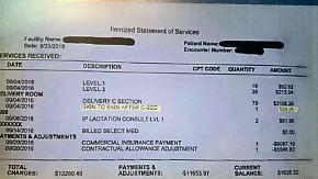 Kaum zu glauben, aber wahr: Klinik-Rechnung sorgt für Kopfschütteln
