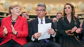 Tag der Deutschen Industrie: Grillo sorgt sich