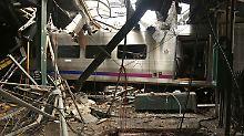 Unglück in Hoboken: Zug fuhr deutlich zu schnell