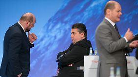 Umfrage: Wer ist der bessere SPD-Kanzlerkandidat?