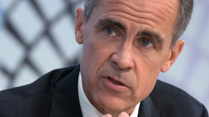 Leitet den G20-Ausschuss für Finanzstabilität: Großbritanniens oberster Währungshüter Mark Carney.