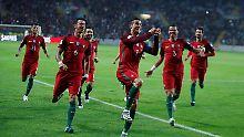 CR7 rasiert Andorra im Alleingang: Europas große Fußballnationen überzeugen