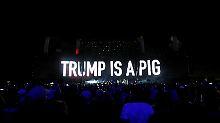 """""""Gabel in seinen Mammuthintern"""": US-Stars lästern über Trumps TV-Auftritt"""