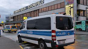 Terrorverdächtiger aus Chemnitz: Berliner Flughäfen waren offenbar Anschlagsziel