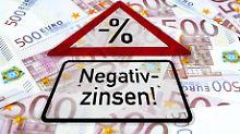 Bei Neuverträgen zulässig: Strafzinsen für Sparer nicht per se verboten