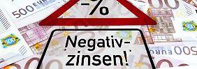 Banken fein raus: Negativzinsen für Riester-Sparer erlaubt