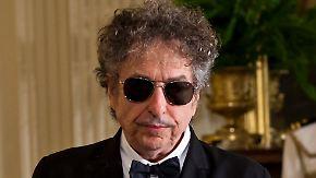 Nobelpreis für Bob Dylan: Höchste literarische Ehrung geht erstmals an einen Popstar
