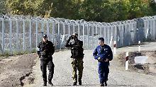 Beim EU-Innenministertreffen wird über die künftige gemeinsame Grenzpolitik beraten.