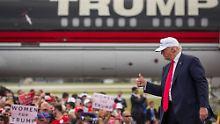Clintons Vize bringt den Sieg: Trump gibt Virginia auf