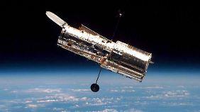 Das Hubble-Weltraumteleskop ist seit mehr als 25 Jahren im Einsatz.