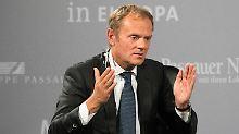 Brexit-Rückruf wäre kein Problem: Tusk würde Briten zurücknehmen