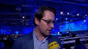 """CSU-Generalsekretär Andreas Scheuer: """"Wir brauchen ein Einwanderungsbegrenzungsgesetz"""""""