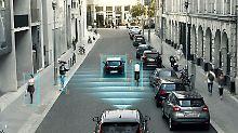 Wen soll das autonom fahrende Auto in Gefahrensituationen retten, den Fahrer oder die Fußgänger?