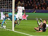 Leverkusens Javier Hernandez ist normalerweise eiskalt vor dem Tor. Gegen Tottenham vergab auch er beste Gelegenheiten.